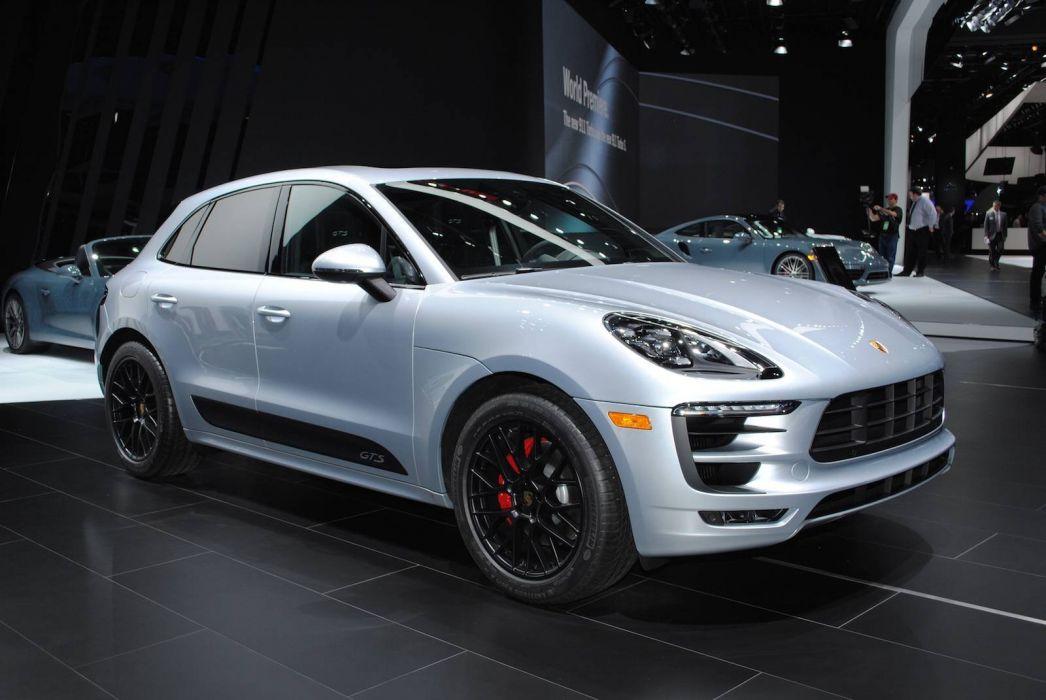 2016 Auto cars detroit show Porsche Macan GTS suv wallpaper