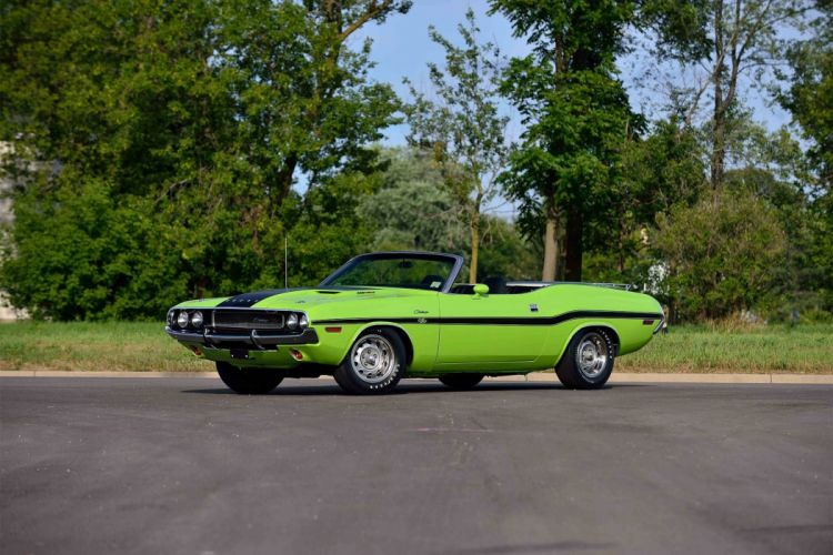 1970 Hemi Dodge Challenger R-T convertible mopar muscle classic wallpaper