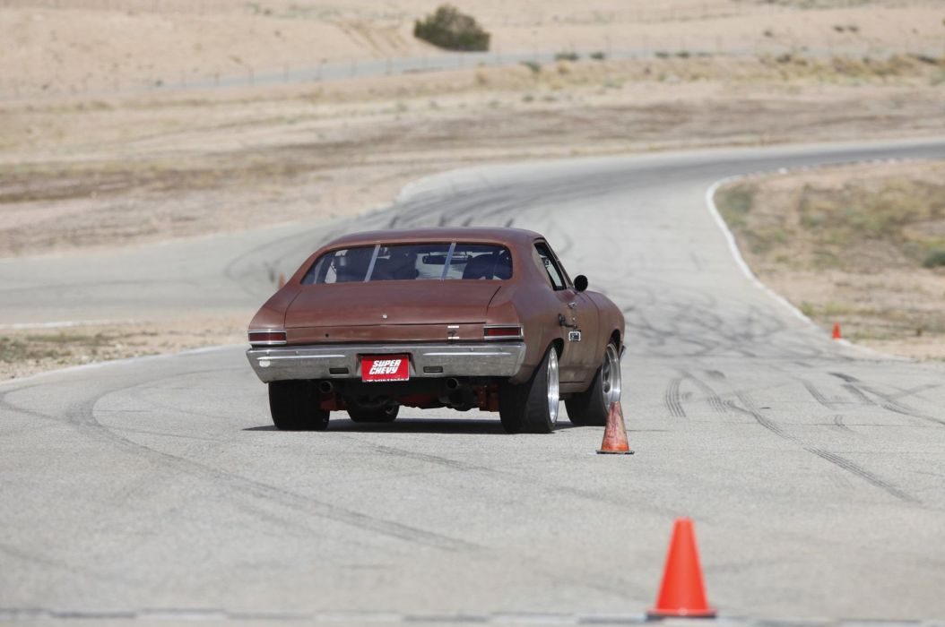 1968 Chevrolet Chevelle hot rod rods muscle classic custom wallpaper
