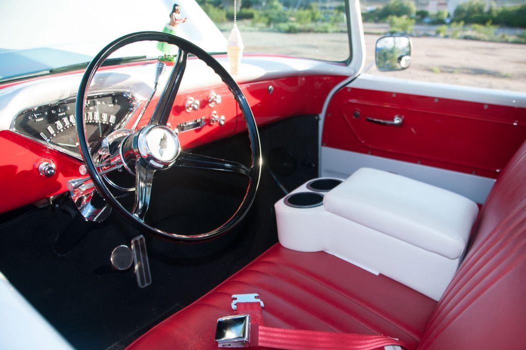 1958 Chevy 3100 Ice Cream Truck pickup hot rod rods custom retro wallpaper