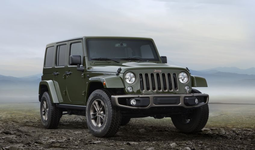 2016 Jeep Wrangler Unlimited 75th Anniversary J-K suv awd 4x4 wallpaper
