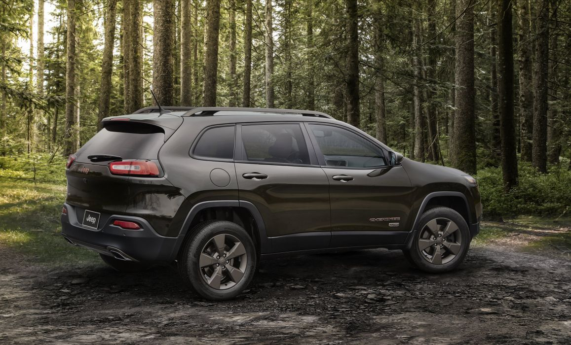 2016 Jeep Cherokee 75th Anniversary K-L suv awd 4x4 stationwagon wallpaper