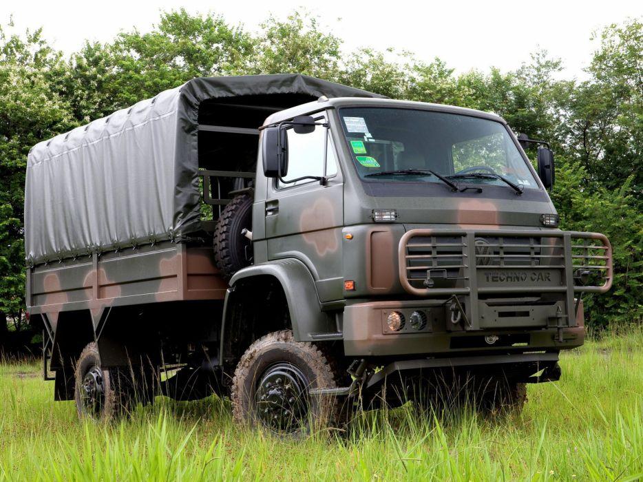 2008 Volkswagen Worker 15-210 4x4 Military semi tractor wallpaper