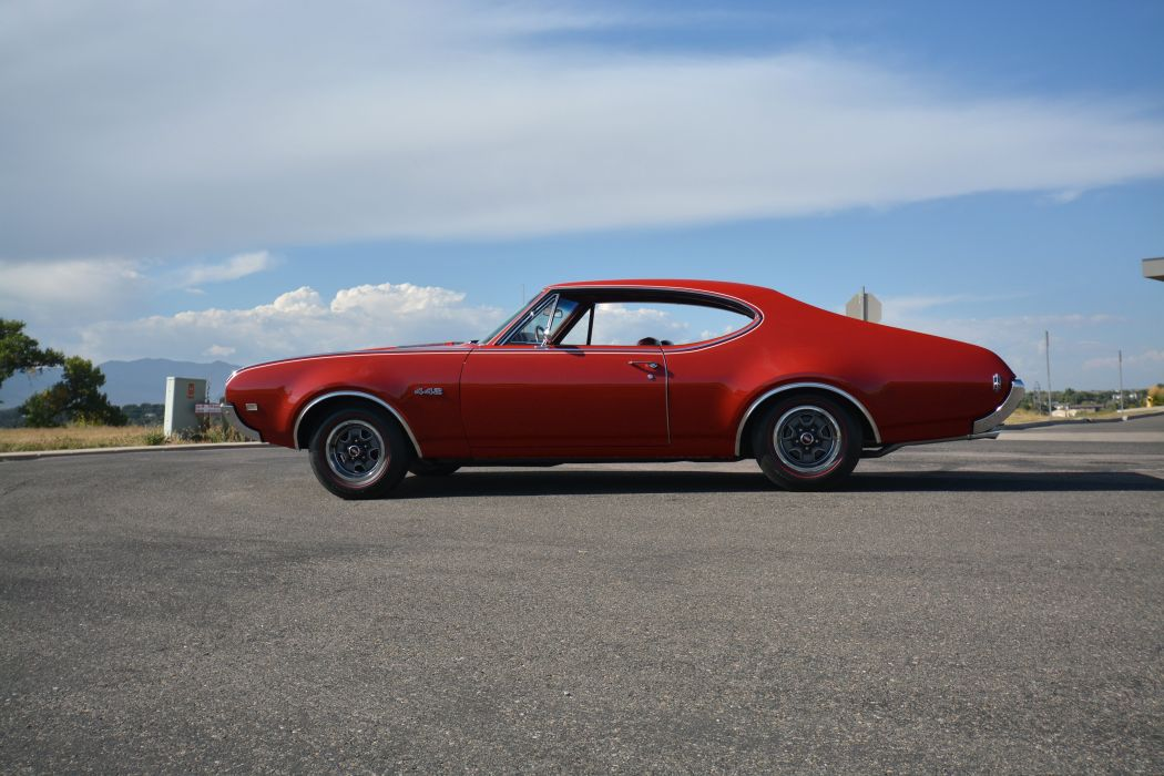 1968 Oldsmobile 442 Holiday Coupe 4487 muscle classic wallpaper