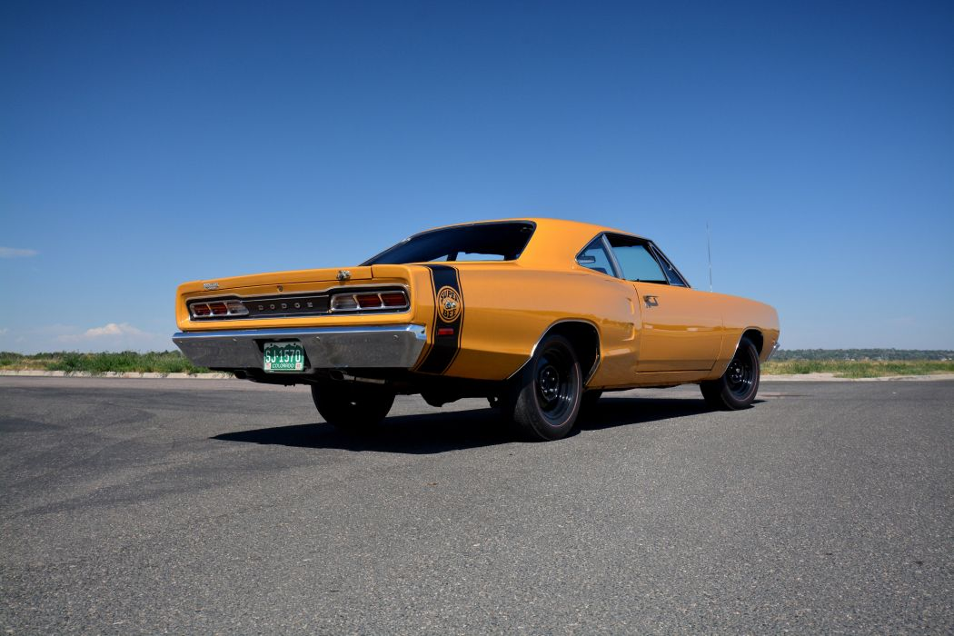 1969 Dodge Coronet Super Bee 440 Six Pack Coupe WM21 mopar muscle classic wallpaper