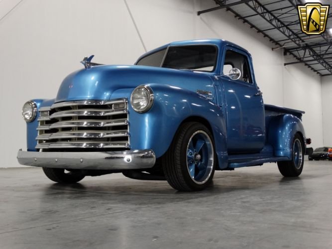 1949 Chevrolet 3100 Pickup cars custom blue wallpaper