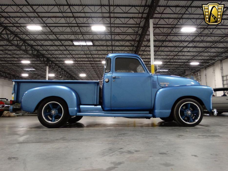 1949 Chevrolet 3100 Pickup cars custom blue wallpaper