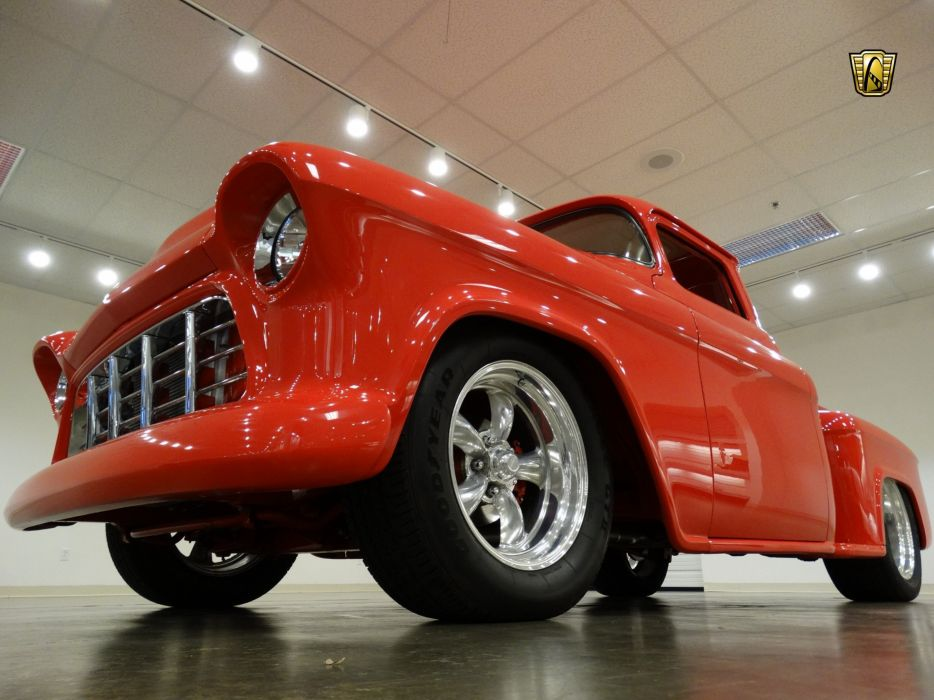 1955 Chevrolet Pickup cars custom wallpaper