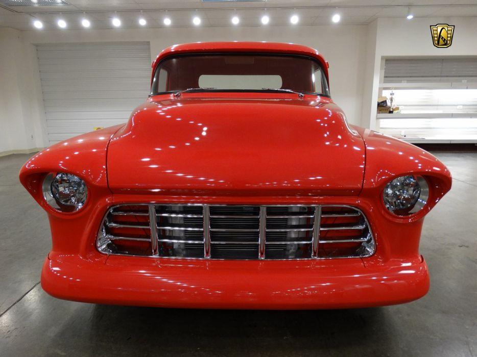 1955 Chevrolet Pickup cars custom wallpaper