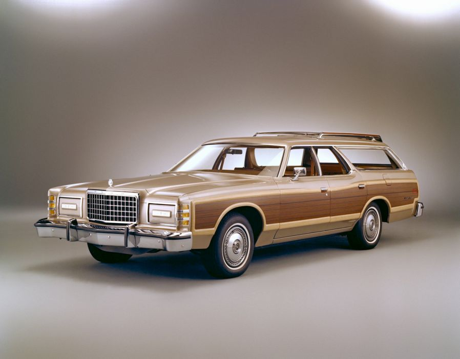 1978 Ford LTD Country Squire StationWagon 71K classic wallpaper