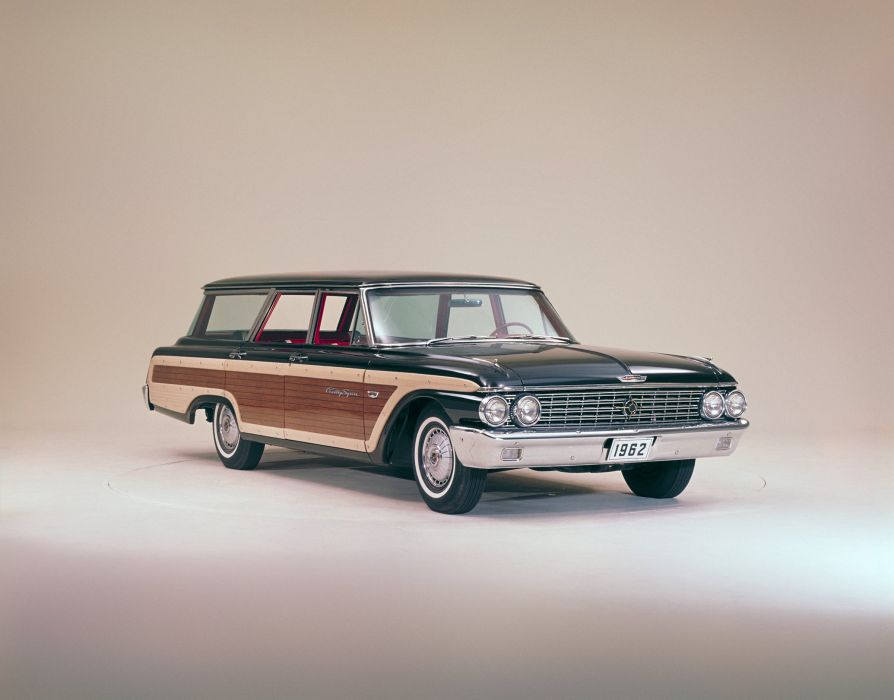 1962 Ford Country Squire 9-passenger StationWagon 71E classic wallpaper