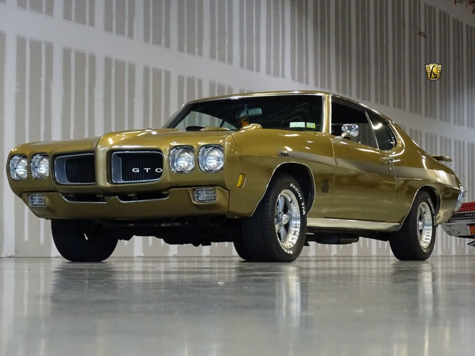 1970 Pontiac GTO cars wallpaper