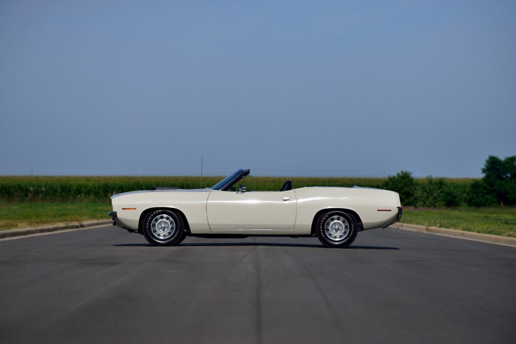 1970 Plymouth Cuda 440 Convertible BS27 mopar muscle classic wallpaper
