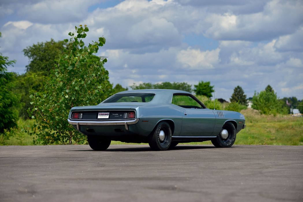 1971 Plymouth Hemi Cuda mopar muscle classic wallpaper