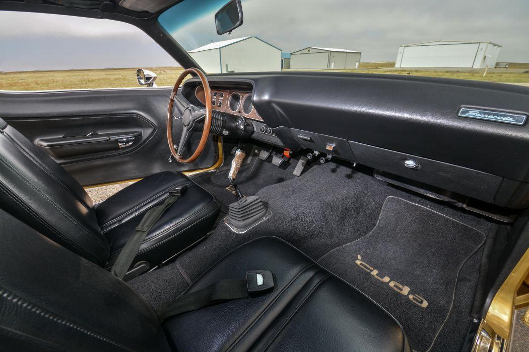 1971 Plymouth Cuda 440 mopar muscle barracuda classic wallpaper