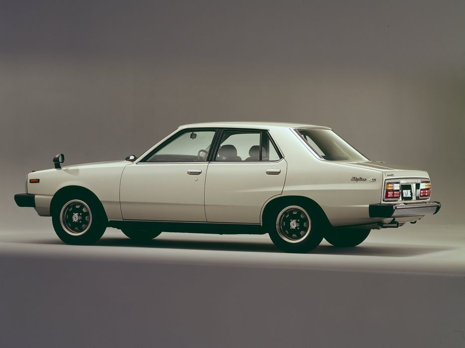 1977-79 Nissan Skyline 1800TI-E L-Type Sedan C210 wallpaper