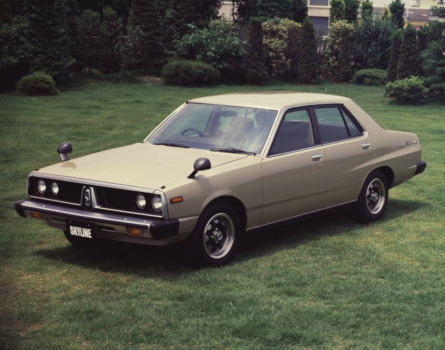 1977-79 Nissan Skyline 1800TI-E L-Type Sedan C210 wallpaper
