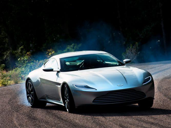 2016 Aston Martin DB10 supercar coupe wallpaper
