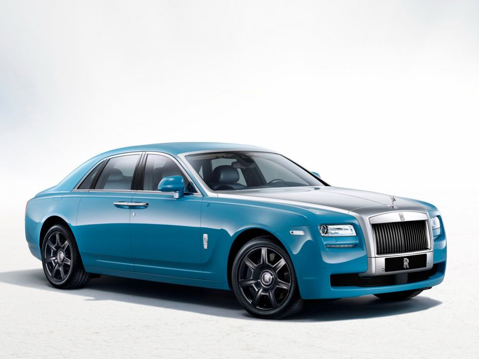 2013 Rolls Royce Ghost Alpine Trial Centenary Collection luxury tuning wallpaper