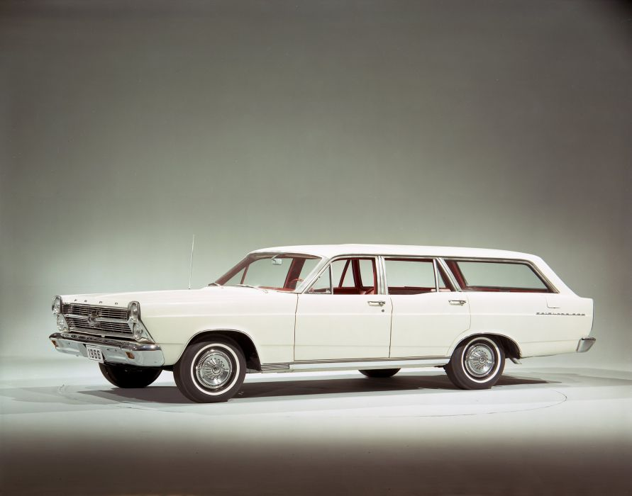 1966 Ford Fairlane 500 StationWagon classic wallpaper