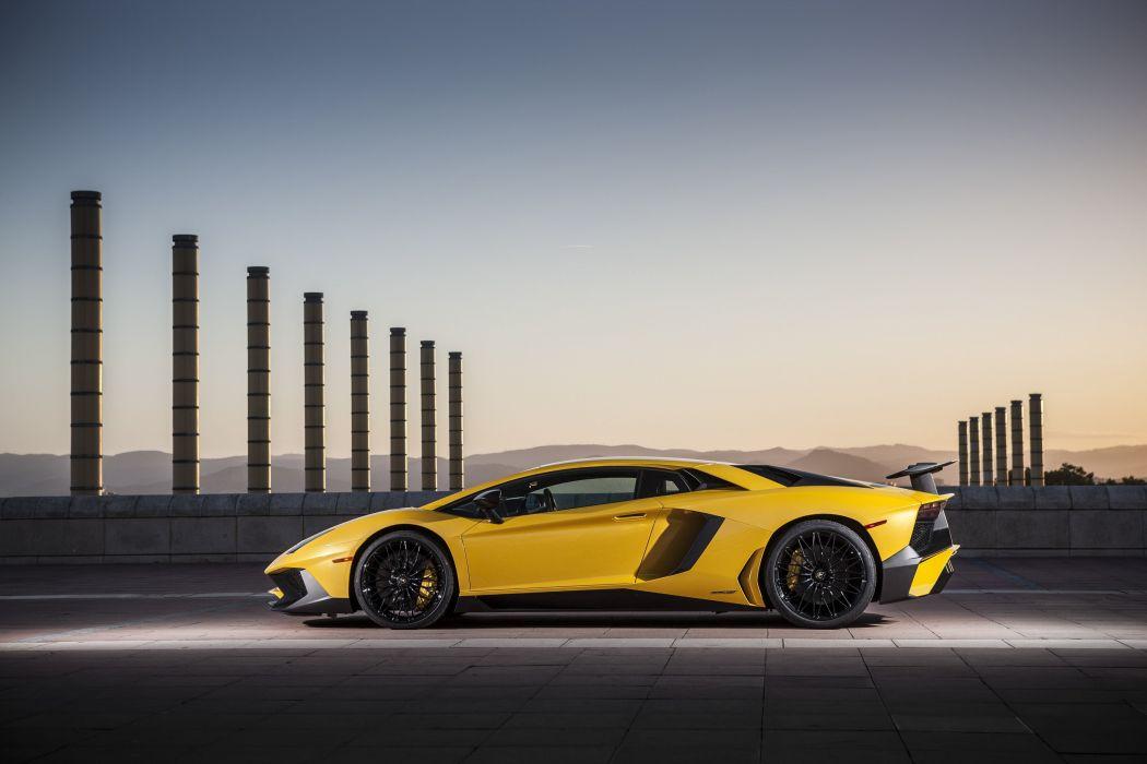 2016 Lamborghini Aventador LP750-4 Superveloce supercar wallpaper