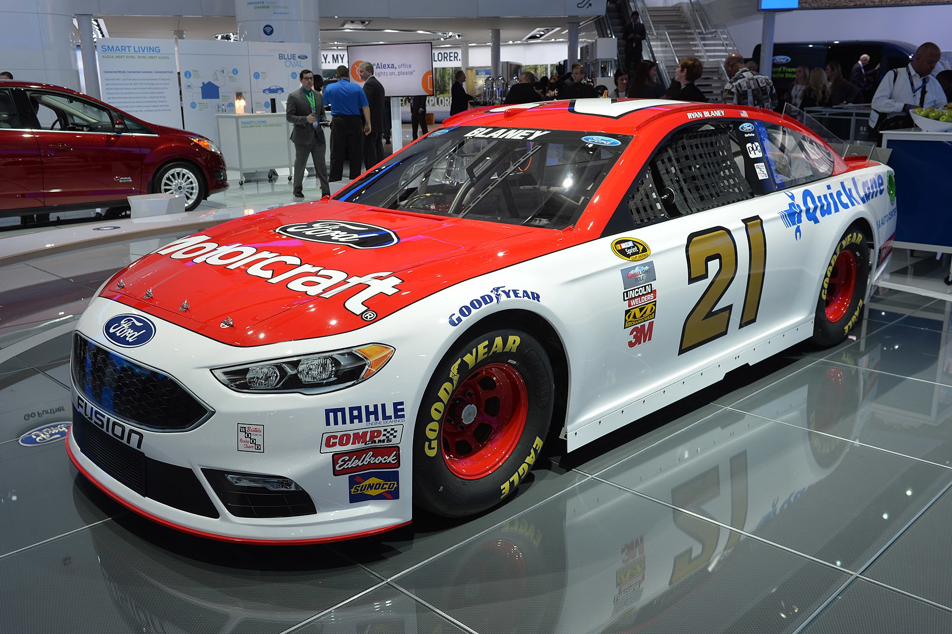 Ford Fusion Nascar Race Cars Wallpaper