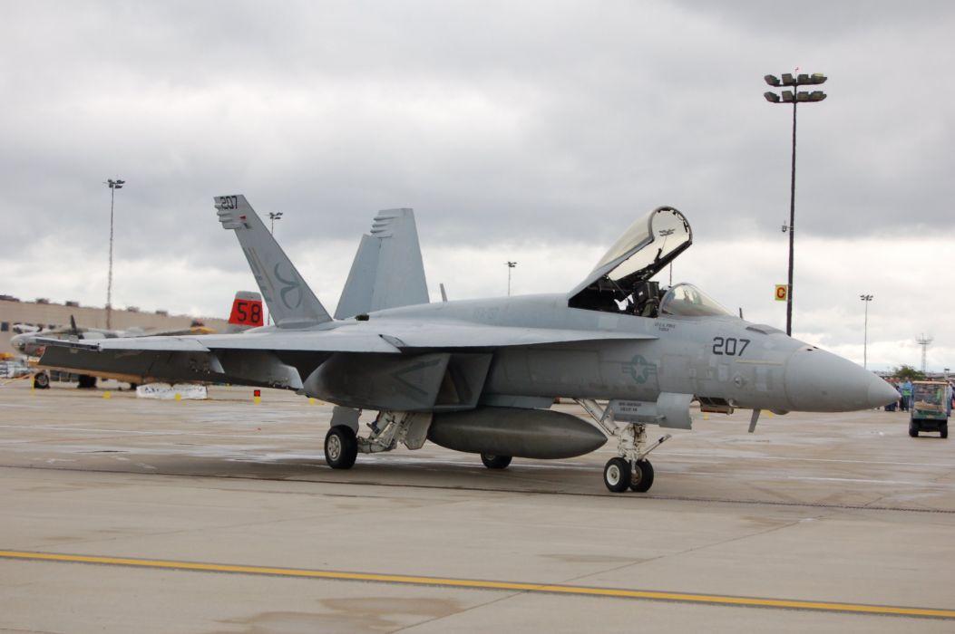 avion combate f-18 militar wallpaper