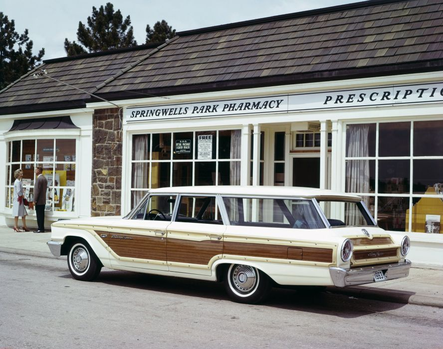 1963 Ford Country Squire 71E-78 stationwagon classic wallpaper