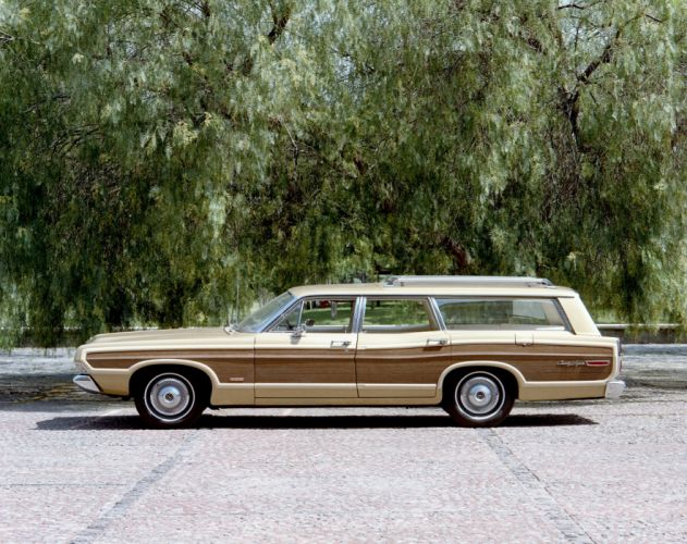 1968 Ford LTD Country Squire StationWagon classic wallpaper