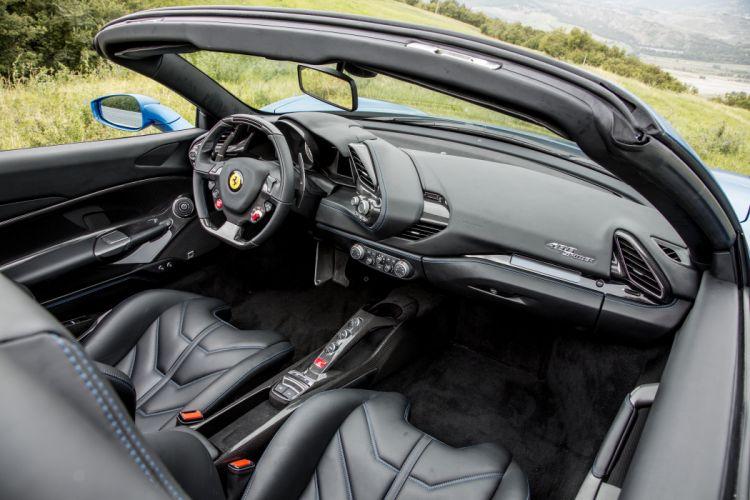 2015 Ferrari 488 Spider supercar wallpaper