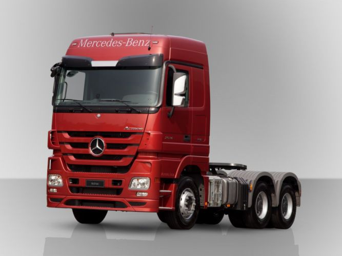 2011-15 Mercedes Benz Actros 2646 L-S MP3 semi tractor wallpaper