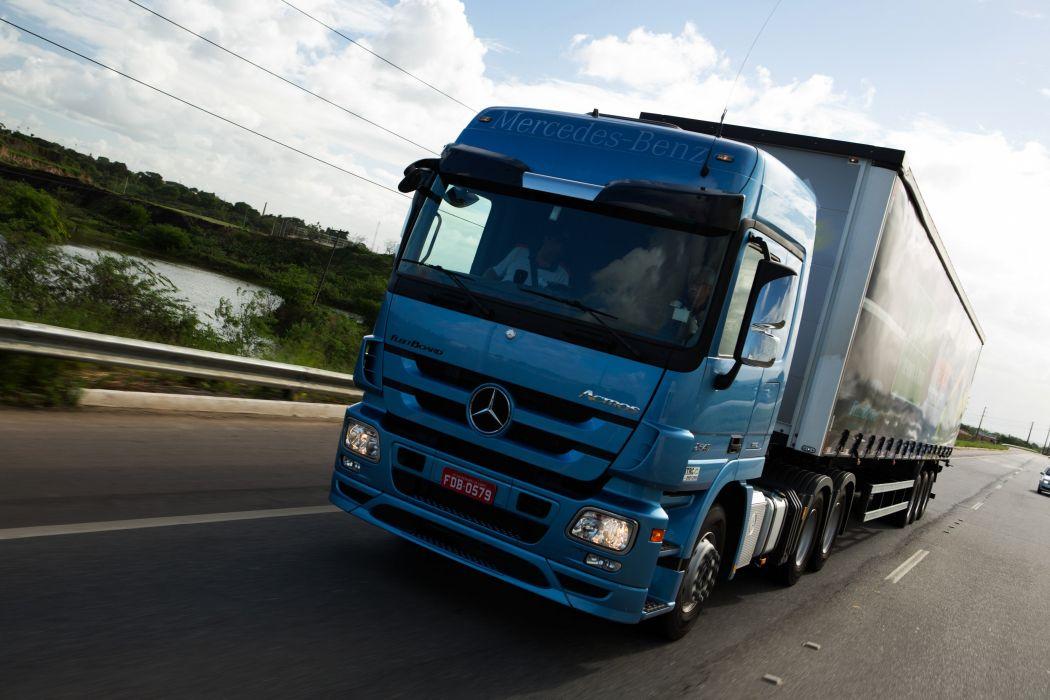 2008-15 Mercedes Benz Actros 2546 L-S MP3 semi tractor wallpaper