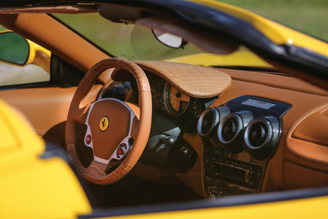 2007 Ferrari F430 Spider with Schedoni US-spec Pininfarina supercar wallpaper