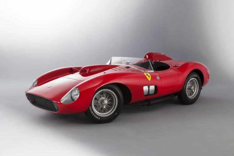 1957 Ferrari 335 S supercar race racing retro wallpaper