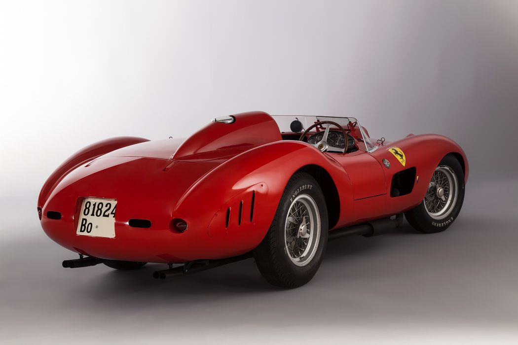 1957 Ferrari 335 S supercar race racing retro wallpaper