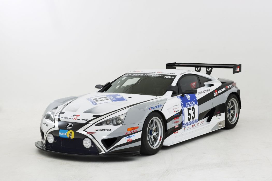 2015 GAZOO Racing Lexus LFA Code-X rally race wallpaper