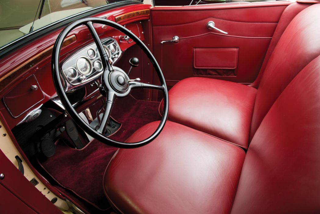 1934 Pierce Arrow Twelve Convertible Coupe Roadster 1240A luxury vintage wallpaper