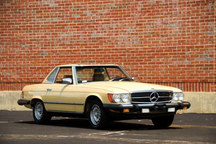 1980-85 Mercedes Benz 380SL US-spec R107 convertible wallpaper