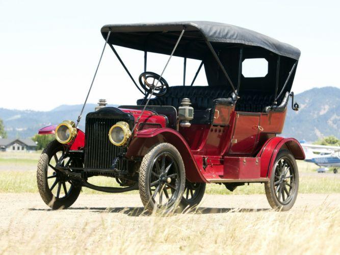1910 White Model-OO Steam Touring luxury vintage wallpaper