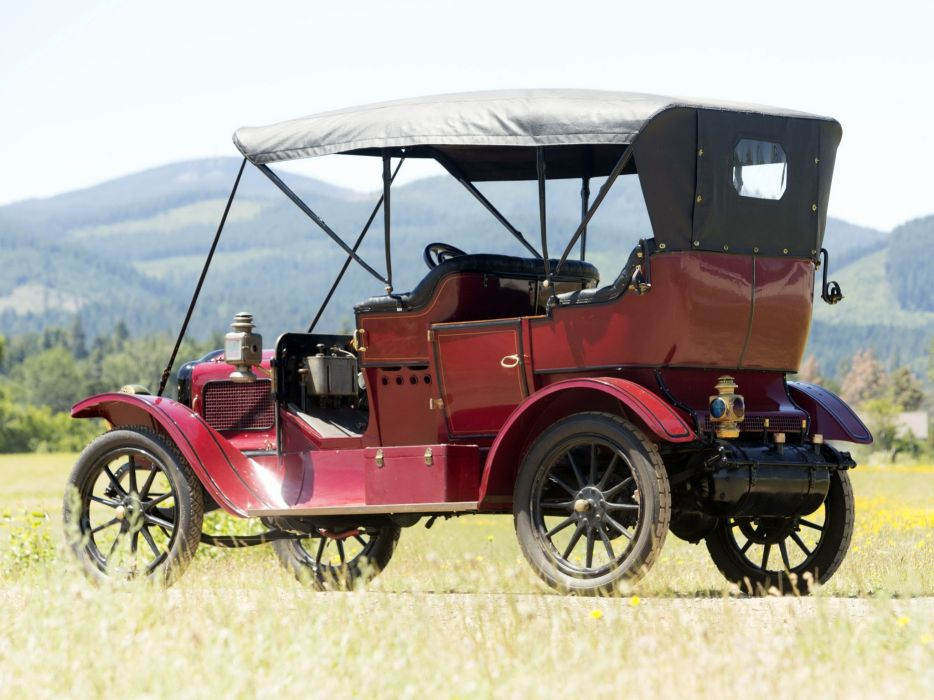 1910 White Model-OO Steam Touring luxury vintage wallpaper