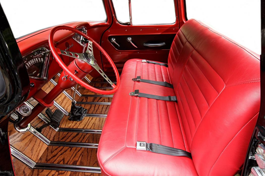 1959 Chevrolet Apache hot rod rods custom retro pickup wallpaper