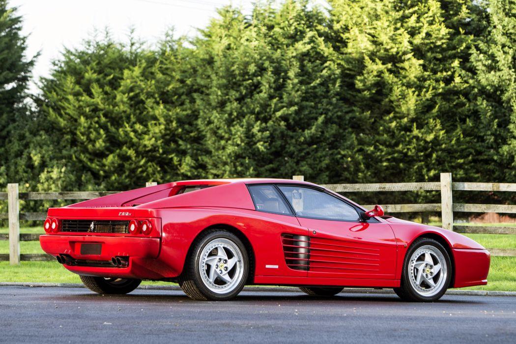 1994-96 Ferrari F512M Pininfarina supercar 512 wallpaper