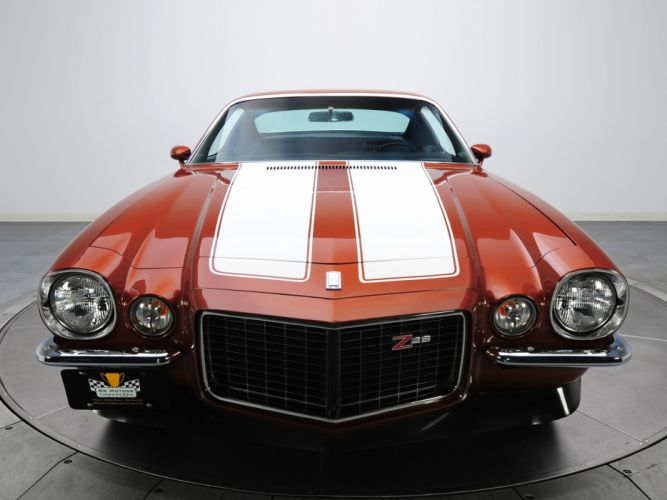 1970 Chevrolet Camaro Z28 R-S 12487 muscle classic wallpaper