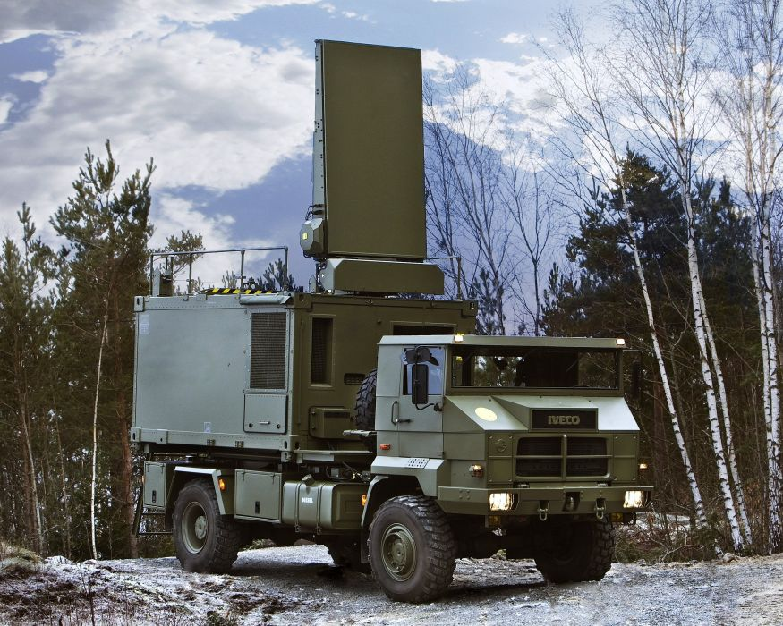 2009 ARTHUR WLS Iveco Pegaso 7226 4x4 military missile weapon semi tractor wallpaper