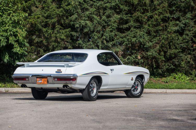 1970 Pontiac GTO Judge Ram Air III Hardtop Coupe muscle classic wallpaper