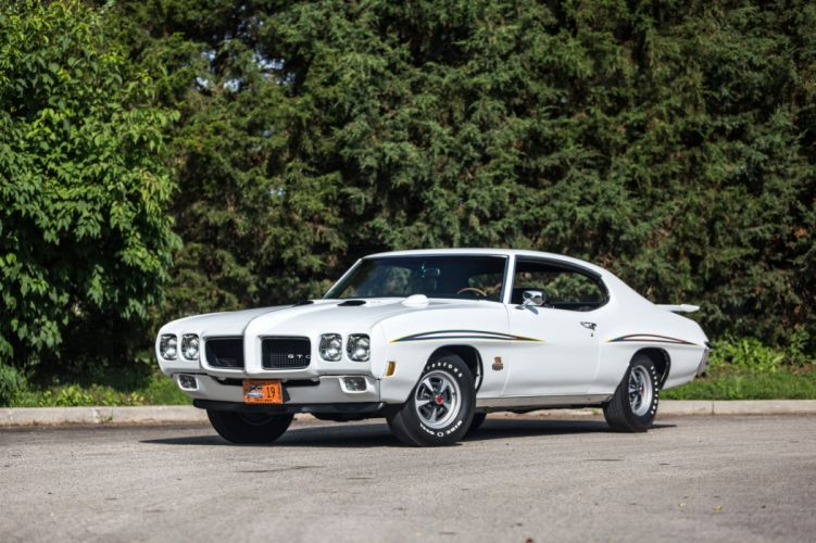 1970 Pontiac GTO Judge Ram Air III Hardtop Coupe muscle classic wallpaper