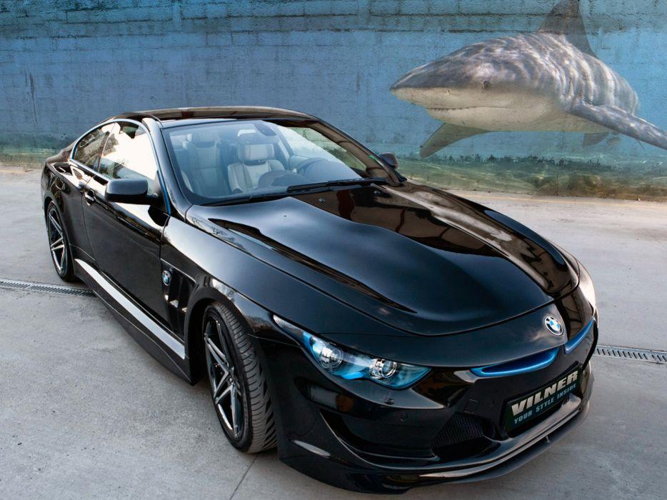 2013 Vilner BMW M-6 Coupe Bullshark E63 tuning custom wallpaper