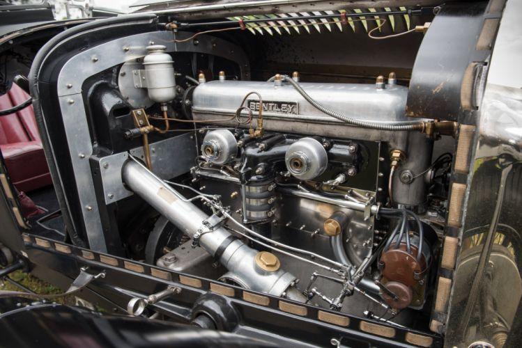1931 Bentley 4Litre Supercharged Blower Two-Seater Sports Vanden Plas race racing vintage wallpaper