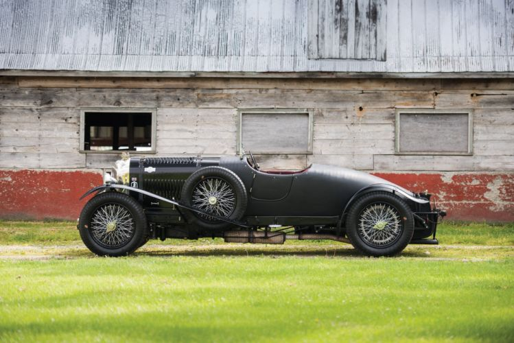 1931 Bentley 4Litre Supercharged Blower Two-Seater Sports Vanden Plas race racing vintage wallpaper