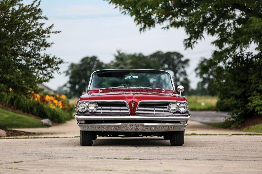 1961 Pontiac Bonneville Convertible luxury classic wallpaper